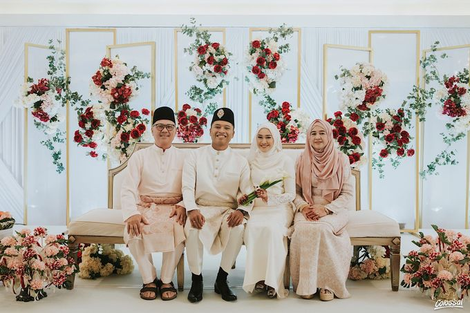 Actual Day Wedding of Naufal and Syahirah by Colossal Weddings - 006