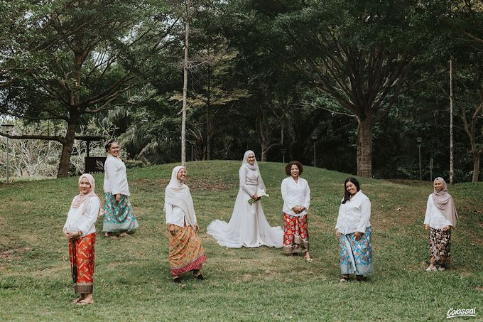 Actual Day Wedding of Naufal and Syahirah by Colossal Weddings - 012