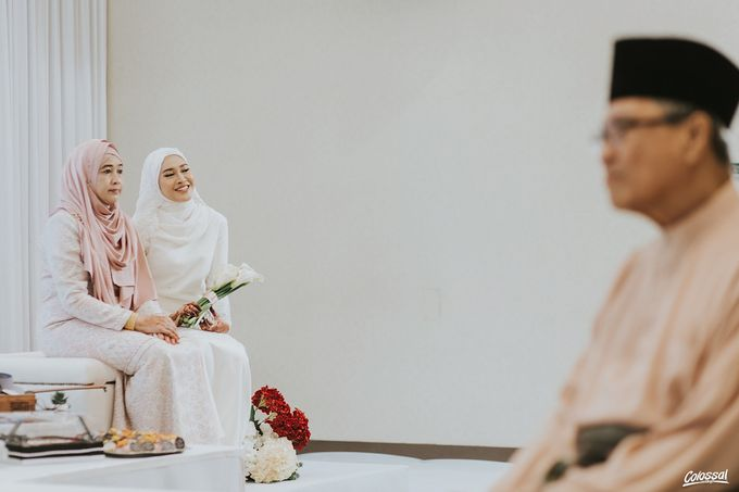 Actual Day Wedding of Naufal and Syahirah by Colossal Weddings - 005