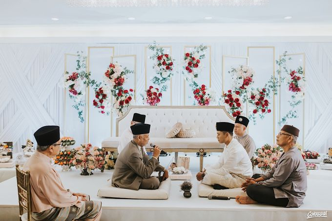 Actual Day Wedding of Naufal and Syahirah by Colossal Weddings - 002