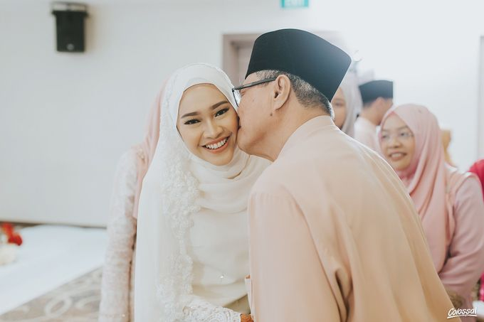 Actual Day Wedding of Naufal and Syahirah by Colossal Weddings - 001