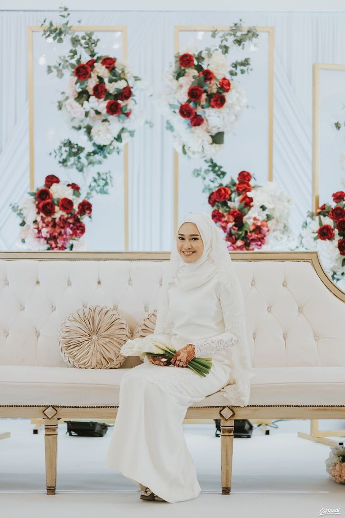 Actual Day Wedding of Naufal and Syahirah by Colossal Weddings - 004