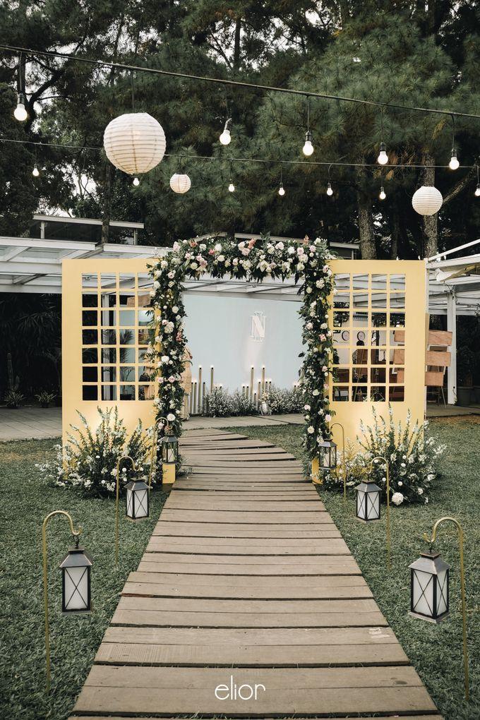 Wes Anderson Wedding Theme of of Nazura & Ichsan by Elior Design - 002