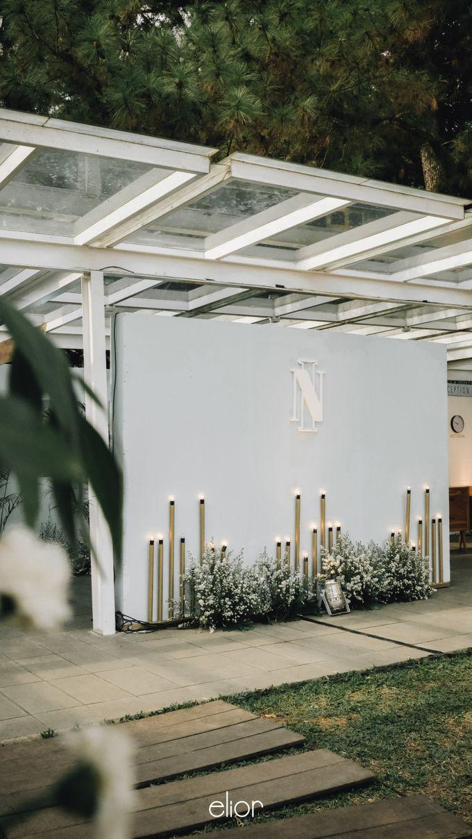 Wes Anderson Wedding Theme of of Nazura & Ichsan by Elior Design - 008