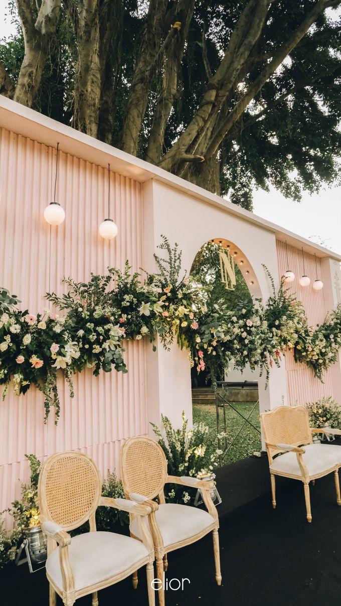 Wes Anderson Wedding Theme of of Nazura & Ichsan by Elior Design - 009