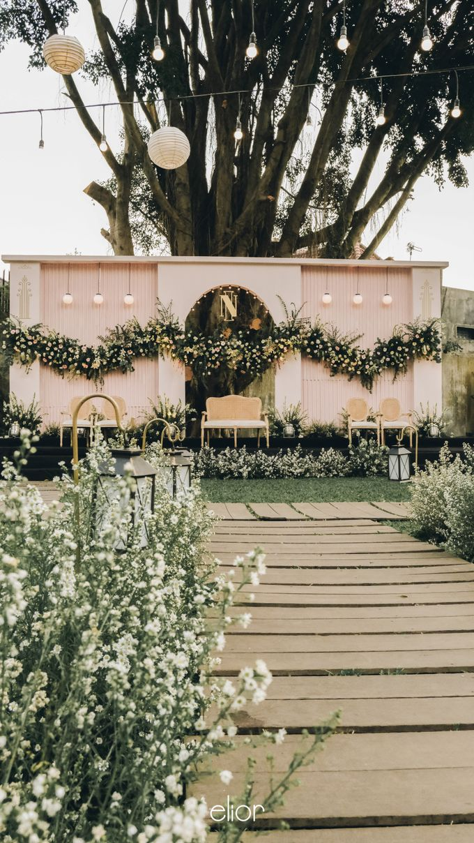 Wes Anderson Wedding Theme of of Nazura & Ichsan by Elior Design - 012