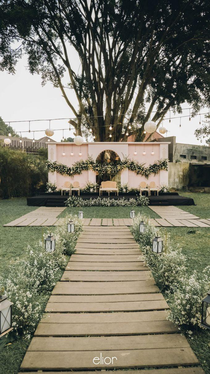 Wes Anderson Wedding Theme of of Nazura & Ichsan by Elior Design - 013