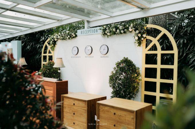 Wes Anderson Wedding Theme of of Nazura & Ichsan by Elior Design - 014