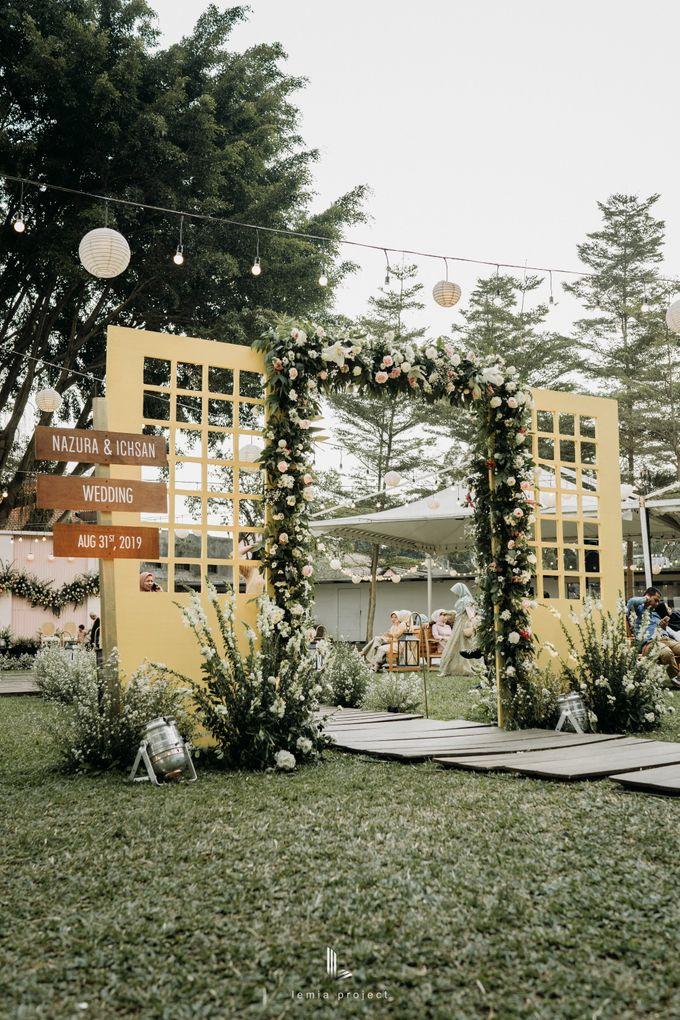Wes Anderson Wedding Theme of of Nazura & Ichsan by Elior Design - 016