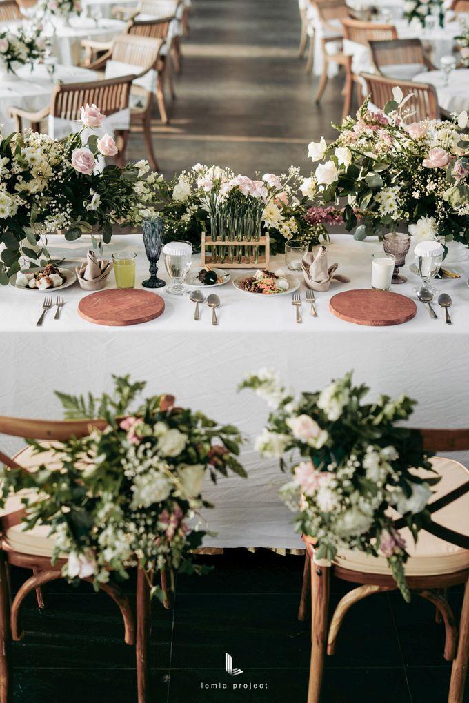 Wes Anderson Wedding Theme of of Nazura & Ichsan by Elior Design - 018