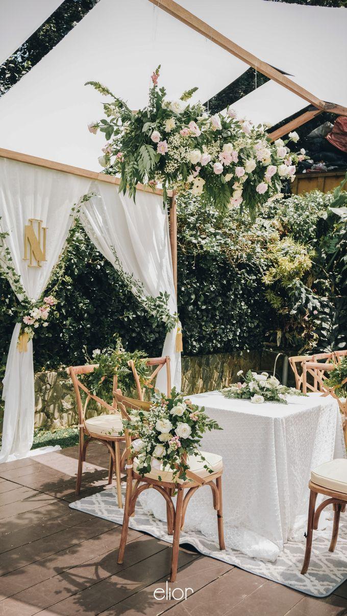 Wes Anderson Wedding Theme of of Nazura & Ichsan by Elior Design - 005