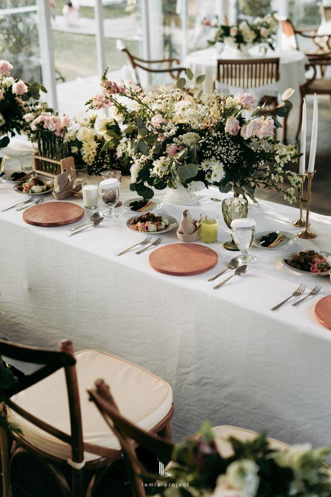 Wes Anderson Wedding Theme of of Nazura & Ichsan by Elior Design - 020