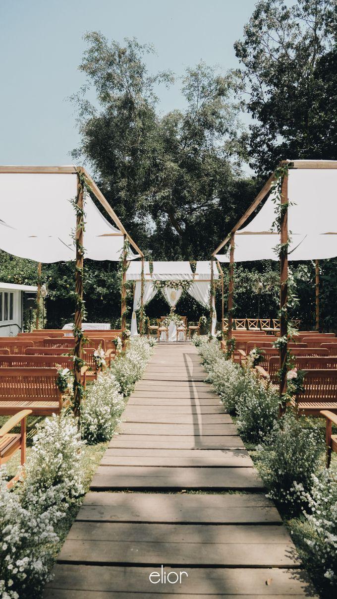 Wes Anderson Wedding Theme of of Nazura & Ichsan by Elior Design - 006