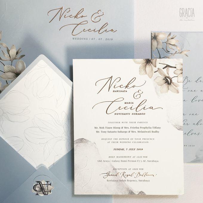 Nicko & Cecilia by Gracia The Invitation - 001