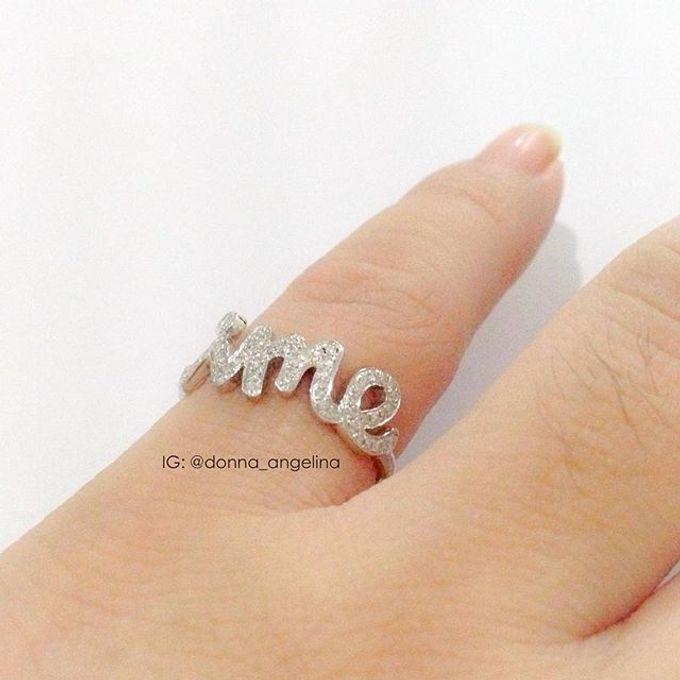 Name & Initial by DA Jewelry - 008