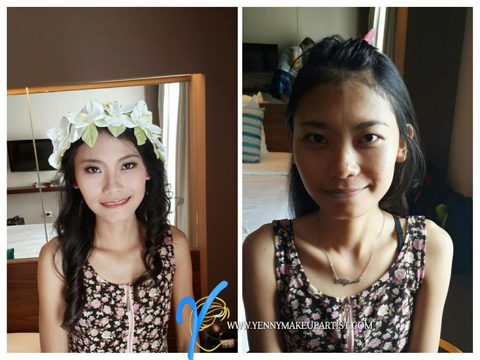 Before & After by Yenny Makeup Artist - 007