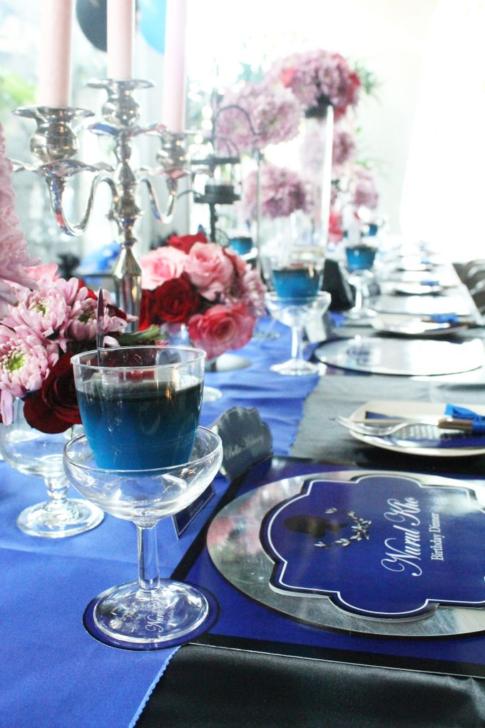 Nurull's Electric Blue Birthday Lunch by 1994 Decoration - 001