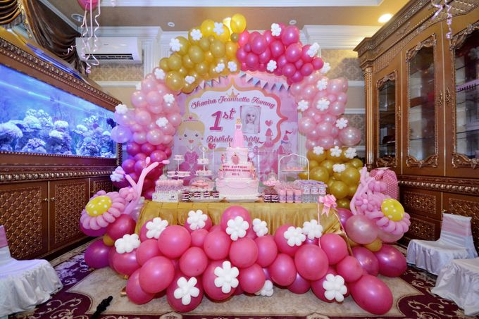 Add To Board Shavira Jeannette 1st Birthday Party Decoration By Our Wedding Event Organizer