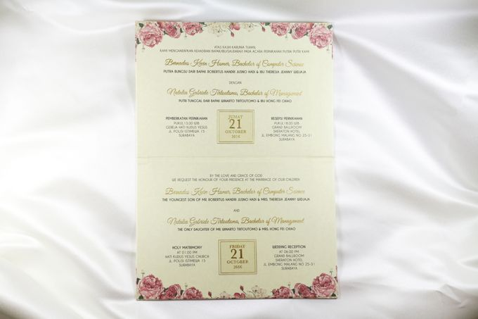 Kevin and natalia wedding invitation by blumento cards bridestory add to board kevin and natalia wedding invitation by sheraton surabaya hotel towers 002 stopboris Gallery