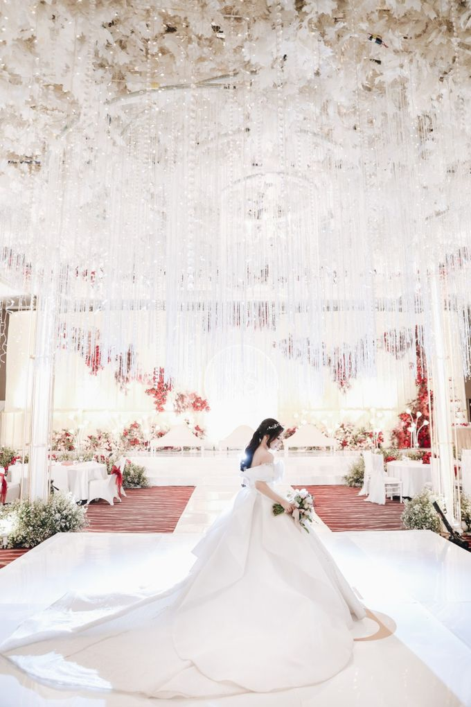 William & Selvi Wedding at Hilton Hotel by PRIDE Organizer - 033