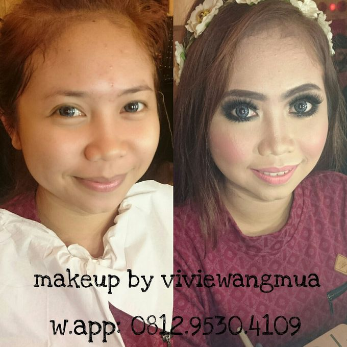 BEFORE AND AFTER by Vivie Wang Brides - 011