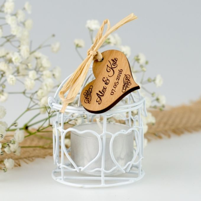 Personalized Wood Wedding Gifts by Personalized Favors - 003