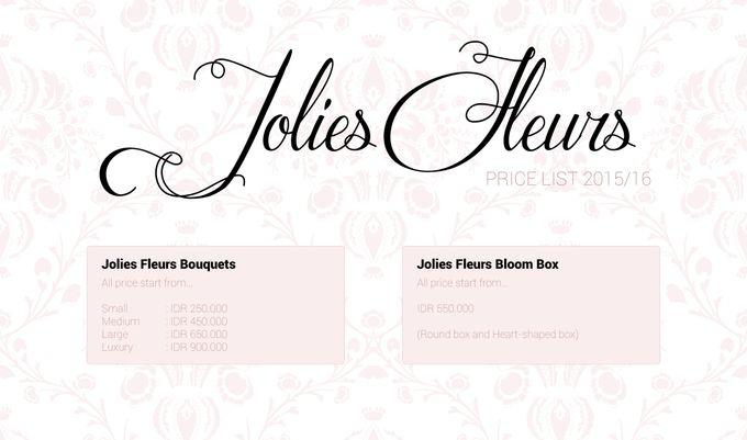 PRICELIST 2015-16 by Jolie Flowers - 003