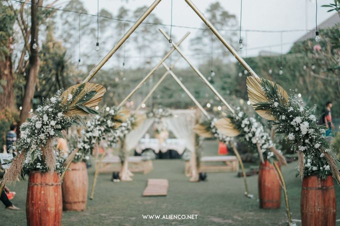 Wedding of Ines & Rizki by Muthia Catering - 010