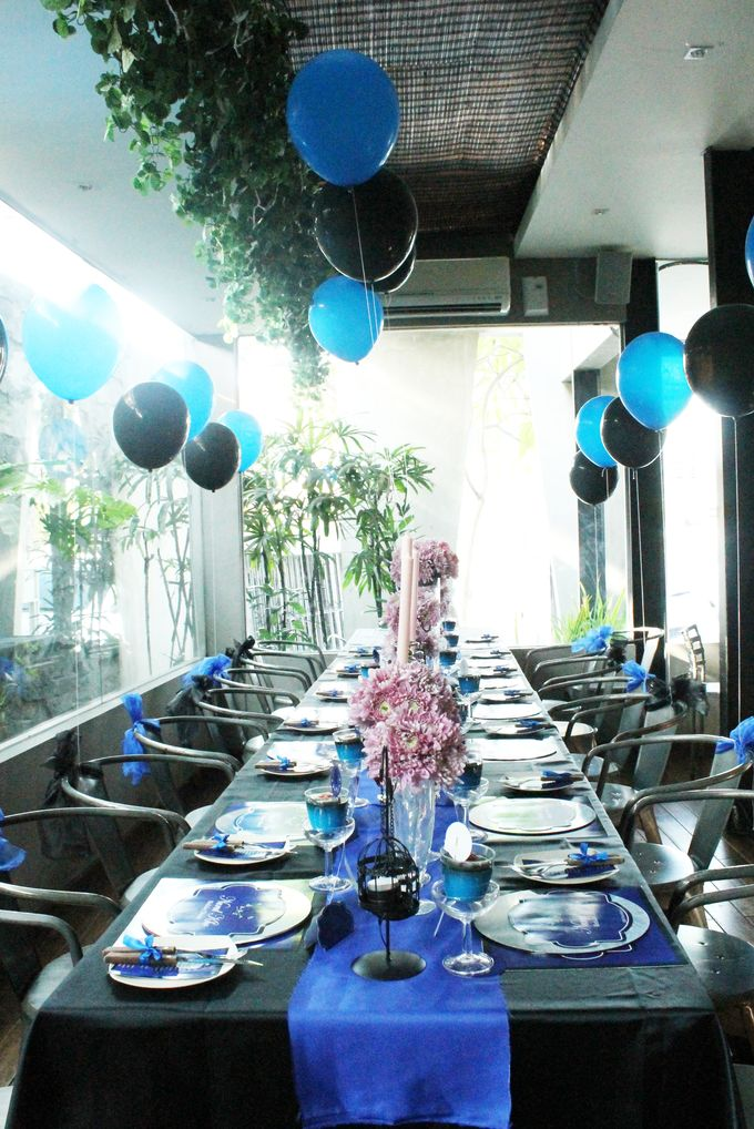 Nurull's Electric Blue Birthday Lunch by 1994 Decoration - 005