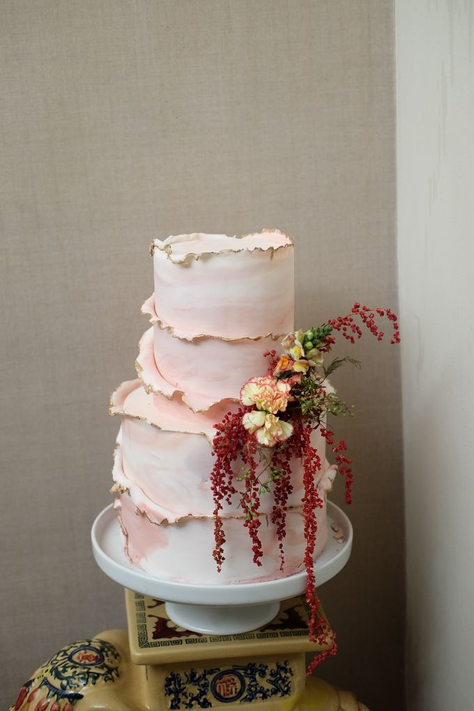 The Wedding Celebration of Celia & Erwin by KAIA Cakes & Co. - 001