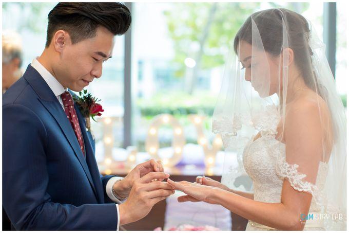 Wedding Solemnization - Nicholas & Jasmine by LOVEBLUSH - 011