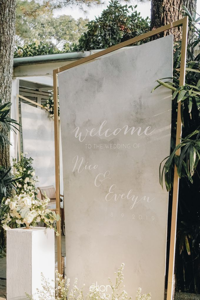 The Wedding of Nico & Evelyn by Elior Design - 020