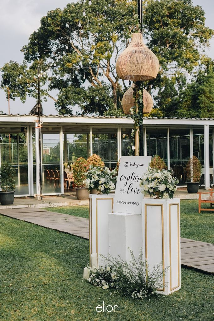 The Wedding of Nico & Evelyn by Elior Design - 021