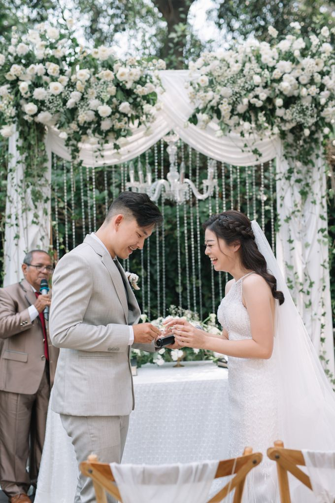 The Wedding of Nico & Evelyn by Elior Design - 017