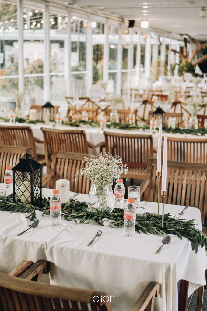The Wedding of Nico & Evelyn by Elior Design - 025