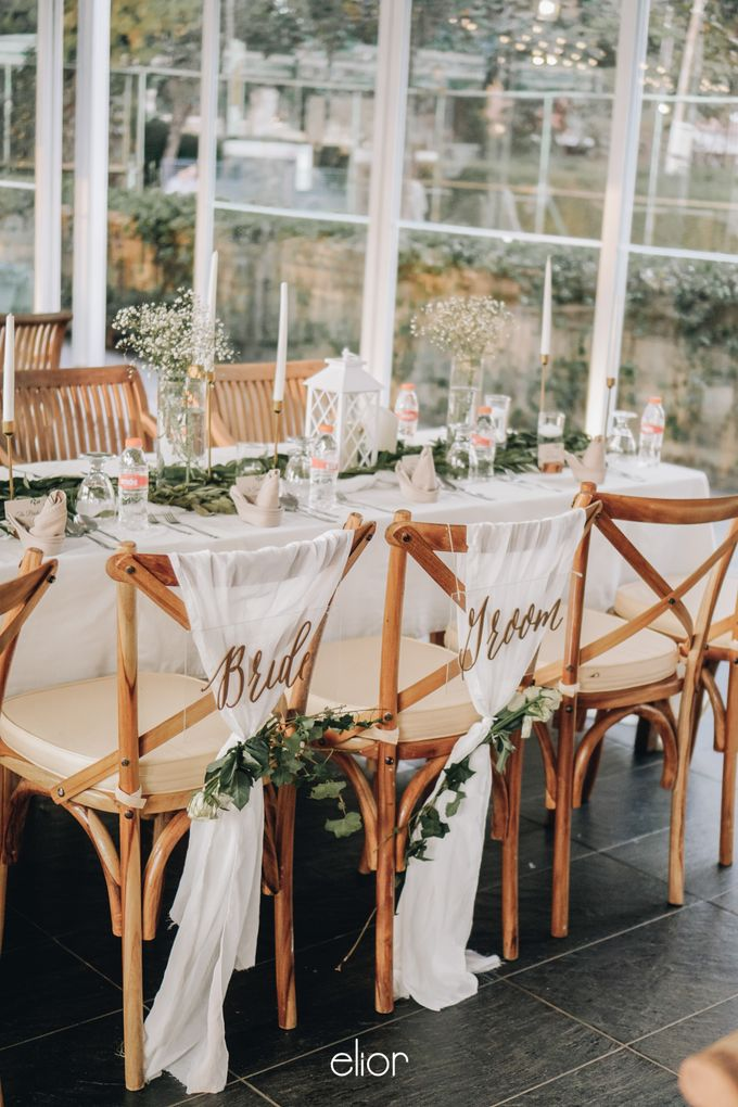 The Wedding of Nico & Evelyn by Elior Design - 028