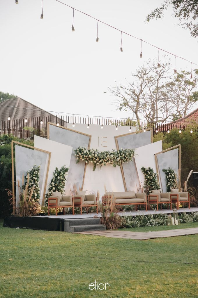 The Wedding of Nico & Evelyn by Elior Design - 029