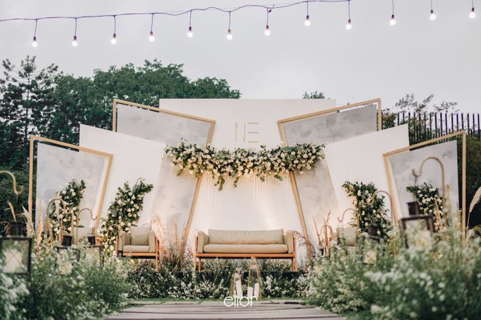 The Wedding of Nico & Evelyn by Elior Design - 031
