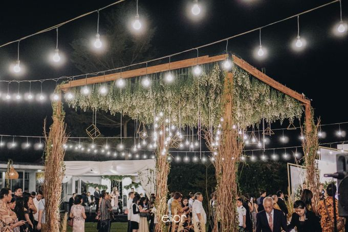 The Wedding of Nico & Evelyn by Elior Design - 033
