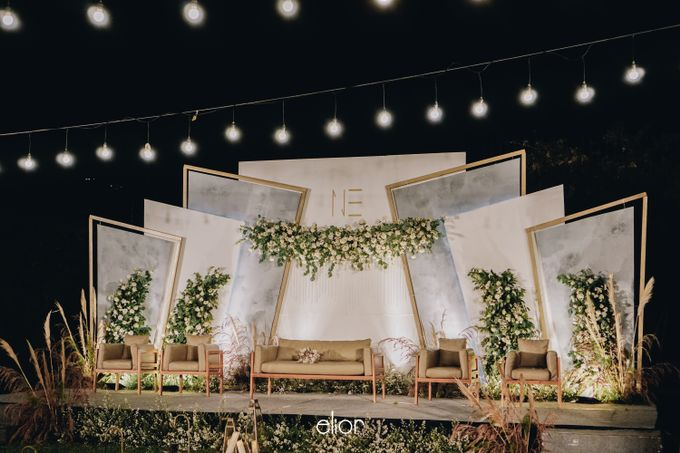 The Wedding of Nico & Evelyn by Elior Design - 036