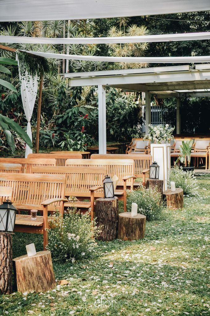 The Wedding of Nico & Evelyn by Elior Design - 018