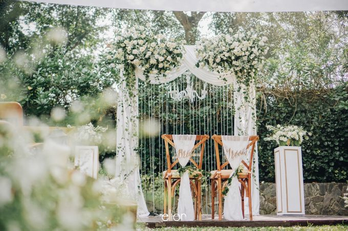 The Wedding of Nico & Evelyn by Elior Design - 019