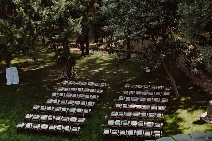 Outdoor Wedding Service by Villa dei Cipressi - 001