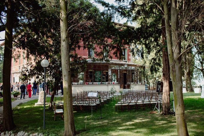 Outdoor Wedding Service by Villa dei Cipressi - 002