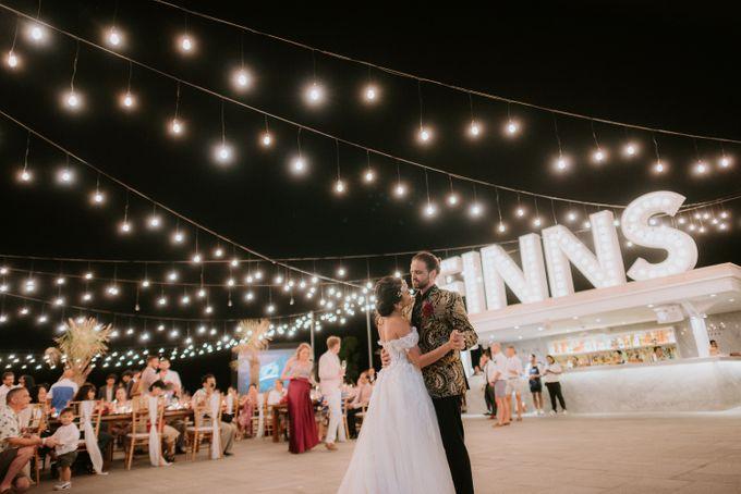 Wedding Niken & Luke by Bali Izatta Wedding Planner & Wedding Florist Decorator - 013