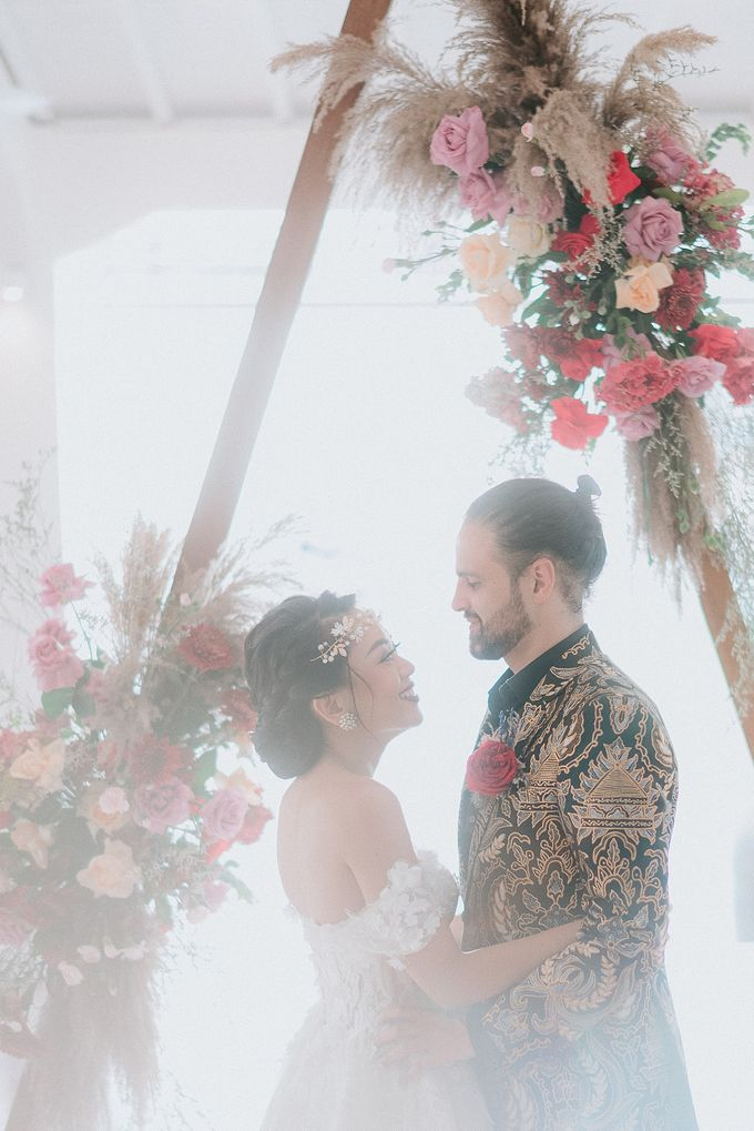 Wedding Niken & Luke by Bali Izatta Wedding Planner & Wedding Florist Decorator - 011