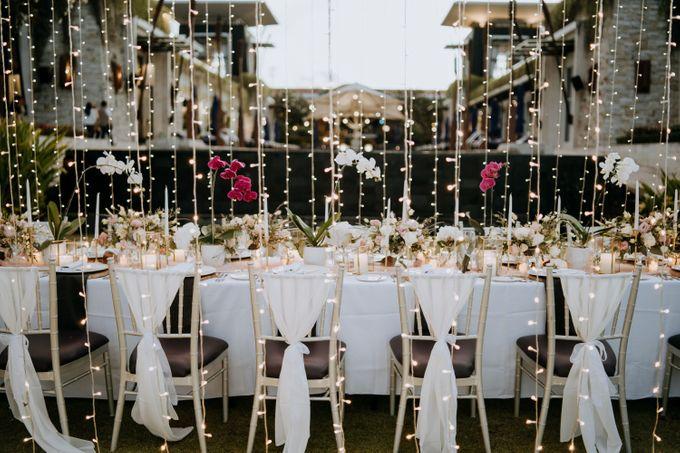 The Wedding Cake Of Nicko & Tsvety by The Sakala Resort Bali - 002