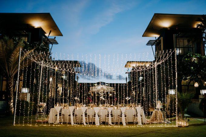 The Wedding Cake Of Nicko & Tsvety by The Sakala Resort Bali - 003