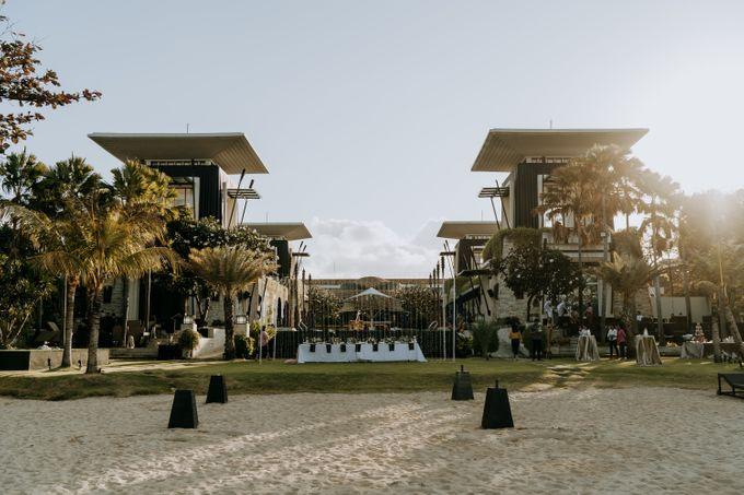 The Wedding Cake Of Nicko & Tsvety by The Sakala Resort Bali - 004