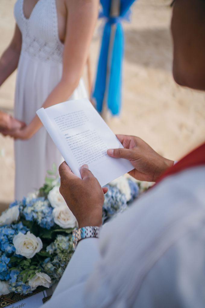 Elopement Wedding by Courtyard by Marriott Bali Nusa Dua - 001